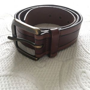 FOSSIL Men's Leather Belt Brown M